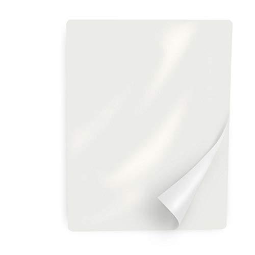 Ultraoffice Laminierfolien DIN A4, glänzend, 100 Stück, 250 Micrometer, für Laminiergeräte wie Laminator, zum langlebigen Schutz von Dokumenten, Speisekarten und mehr