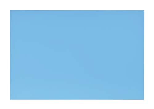 Pizarra magnética de cristal templado de 90 x 60 mm, 4 mm de grosor, montaje horizontal o vertical, se puede utilizar como superficie de proyección