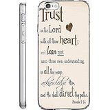 iPhone 6 Plus Back Cover Protector Case 5.5 Inch Proverbs 3:5-6