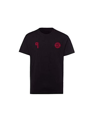 FC Bayern München T-Shirt Lewandowski Kinder schwarz, 140
