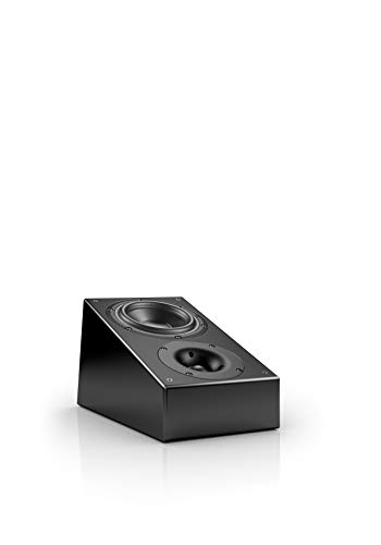 Nubert nuLine RS-54 Dolby Atmos Lautsprecher | Aufsatzlautsprecher geeignet für Dolby Atmos & DTS:X| Passive Surroundbox mit 2 Wege Technik Made in Germany | Kompaktlautsprecher Schwarz | 1 Stück