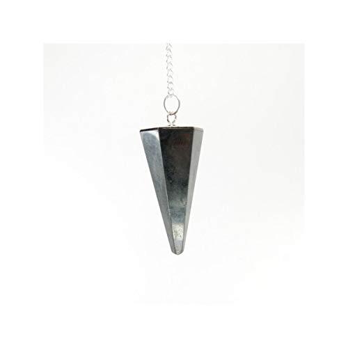 Mineral Import Pendulo Facetado de Shungit - 3998VC