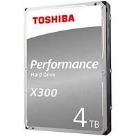 """Toshiba X300 4TB 7200RPM 128MB 3.5\"""" SATA"""