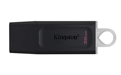 Kingston DataTraveler Exodia DTX/32GB Flash Drive USB 3.2 Gen 1, con Cappuccio Protettivo e Anello Portachiavi in Colori Multipli