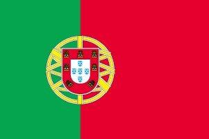 世界の国旗 ポルトガル国旗 90cm×150cm