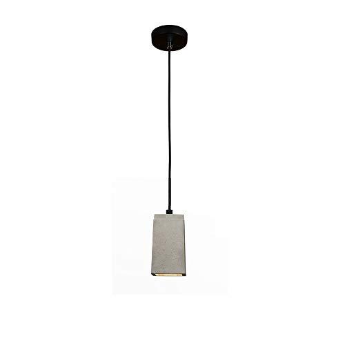 Addison Betonlampe Esstisch Hängelampe Vintage Esstischlampe, Kreative design Pendelleuchte aus Beton, E27 Beton Lampe Pendellampe, LED Industrie Deckenleuchte Hängeleuchte E27 Fassung, 1-Flammig