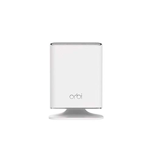 NETGEAR Orbi Outdoor satellite WiFi extender, works with any WiFi router, gateway, or ISP rented equipment (RBS50Y)