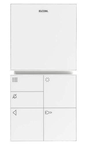 Elcom Freisprech-Haustelefon BFT-210 WS i2-Bus Innenstation für Türkommunikation 4250111813969