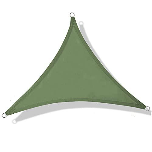 Itlovely Toldo de la yarda del jardín de la prenda impermeable del rectángulo/del triángulo de la sombra del sol al aire libre