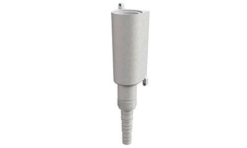 Bonomini - Sifone Scarico Condensa Ad Acqua - Universale a Incasso E a Parete - per Climatizzatore, Condizionatore - Antiodore - Bianco