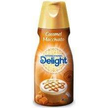 International Delight Caramel Macchiato Coffee Creamer 16 Fluid Ounce -- 6 per case.