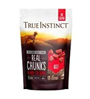 True Instinct Freeze Dried Real Beef Chunks Grain Free 200g True Instinct Freeze Dried Real Beef Chunks Grain Free 200g True Instinct Freeze Dried Real Beef Chunks Grain Free 200g