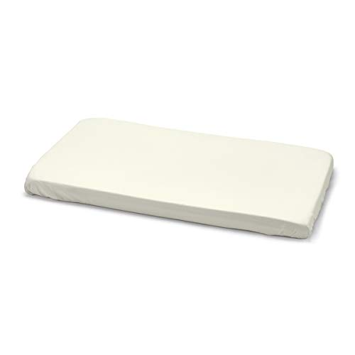 Cambrass Liso E - Sábana ajustable algodón para minicuna, 50 x 82 cm, color beige(10736)