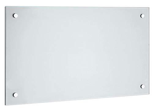 100 x 50 cm Glas Küchenrückwand Glasrückwand Fliesenspiegel Spritzschutz Glasscheibe Herd Spüle Küche, Glasart:Klarglas