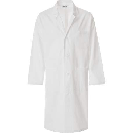 JOBLINE Camice Medico Uomo TG. M Bianco 100% Cotone