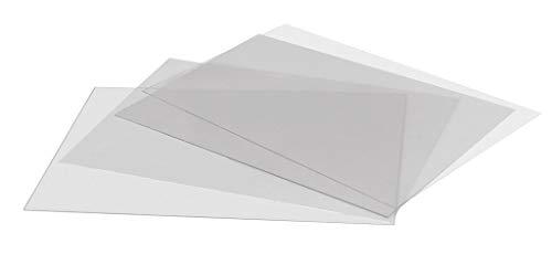 DISPLAY SALES Antireflex Schutzfolie (2 St.) für wasserfeste Klapprahmen DIN A2 Ersatzfolie 0,7 mm dick