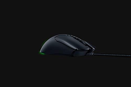 Razer Viper Mini – Ultra light Gaming Mouse (Ultraleichte beidhändige Gamer Maus mit 61g Gewicht, Speedflex-Kabel, optischer 8.500 DPI Sensor und RGB Chroma Beleuchtung) Schwarz - 5