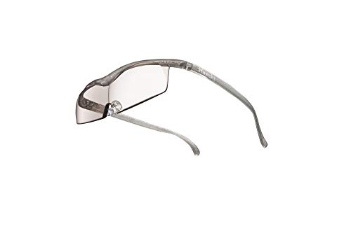 Hazuki ハズキルーペ 直営店 公式店 限定 倍率交換保証付き コンパクト 1.32倍 カラーレンズ チタンカラー ハズキ 拡大鏡 ルーペ メガネ型 眼鏡型 めがね型 メガネ 眼鏡 めがね 日本製 MADE IN JAPAN ギフト