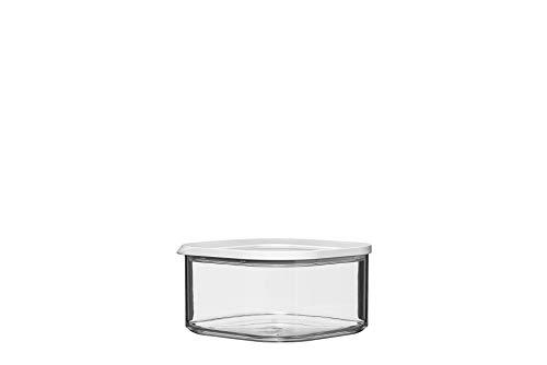 Mepal vorratsdose modula Square 1250 ml, Kunststoff, Weiß, 16 x 16 x 8.6 cm