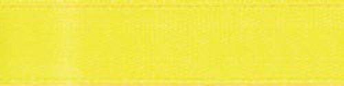 Offray Simple face ruban de satin 1–1/5,1 cm X12 '-lemon