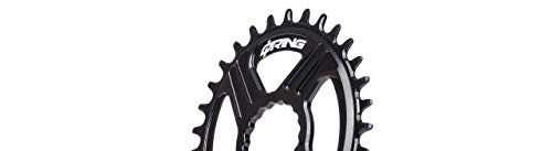 R ROTOR BIKE COMPONENTS Q Rings DM Oval Chainring Rex Q34T Black