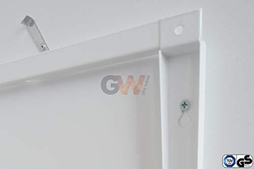 Infrarotheizung Infrarot 450 Watt Metall-Premium Weiss Glaswärmt Heizung Bild 4*
