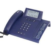 Auerswald COMfortel 2500 Systemtelefon 800 Rn-Speicher dunkelblau