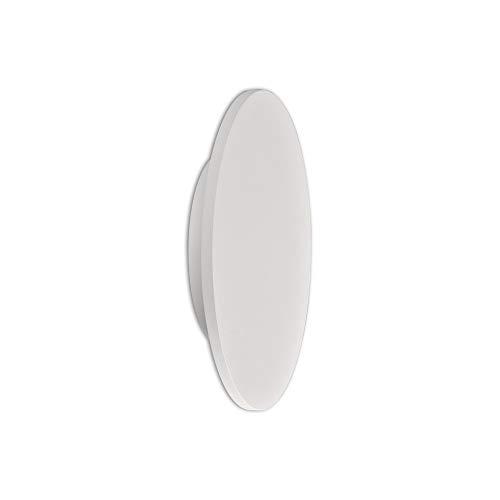 Inspired Mantra - Bora Bora - Plafón LED, Aplique de Pared 38cm Redondo 30W, 3000K, 2400lm, Blanco Mate