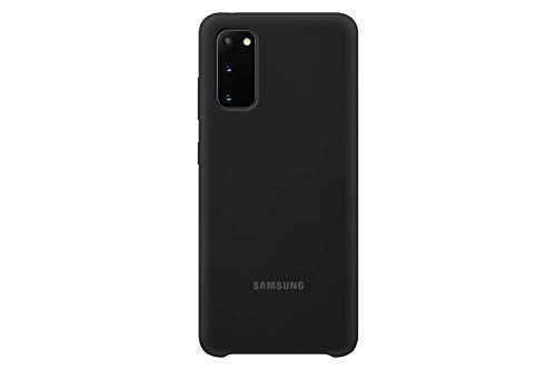 Samsung - Funda de silicona para Galaxy S20, negro