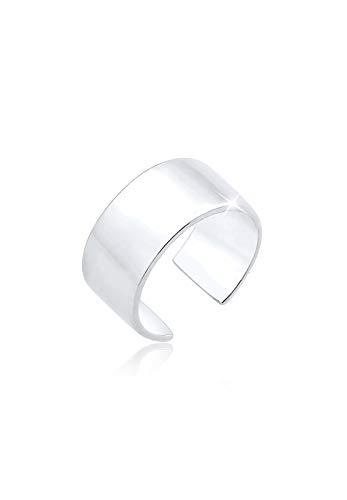 Elli Ohrringe Elli Damen Ohrringe Basic Single Earcuff Trend Blogger in 925 Sterling Silber