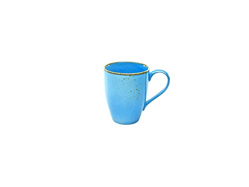 Creatable, 6-er Kaffeebecher 30 cl, Nature Collection, BLUE 22063, Steinzeug