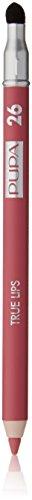 PUPA Milano True Lips Lápiz de labios de color rosa, 1,2 g