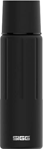 SIGG Gemstone IBT Obsidian Botella termo (0.5 L), cantimplora térmica y aislante sin sustancias nocivas, termo hermético de acero inoxidable