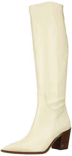 Sam Edelman Women's Lindsey Knee High Boot, Modern Ivory, 9 Medium US