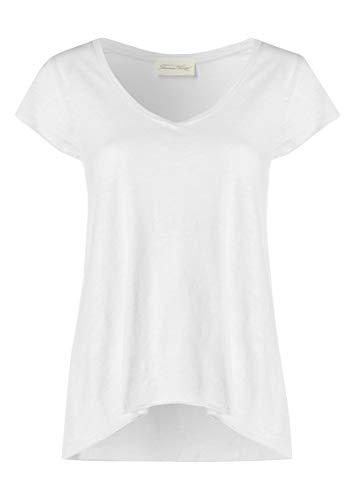 American Vintage Jacksonville - Camiseta de manga corta para mujer Blanco blanco Small
