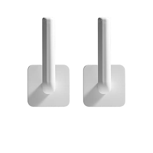 2 Piezas Gancho de Plástico de Utilidad Gancho de Orinal Multiuso Colgador de Pared Multifuncional Soporte de La Cubierta de La Olla para La Cocina