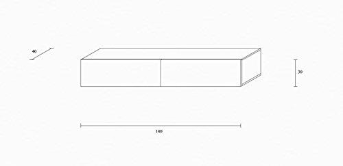 Wohnwand – Low- und Sideboard in weiß Bild 2*
