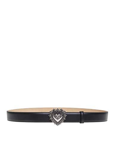 Dolce E Gabbana Cintura Donna Be1315aa42180999 Pelle Nero