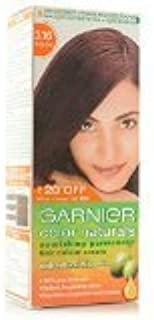 Garnier Color Naturals Nourishing Permanent Hair Color Cream - Burgundy 3.16 40g