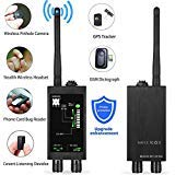 Bug Detector Anti spy RF Signal Detector GPS SPY Monitor Detector Anti Tracking Strong Magnetic Detector for Hidden Camera Laser Lens Eavesdropping Device