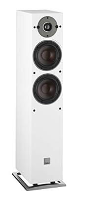 Dali Oberon 5 Floorstanding Speakers (Pair) (White) by DALI