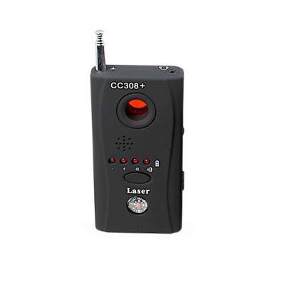 Hidden Camera GSM Audio Bug Detector Anti Spy Finder GPS Signal Lens RF Tracker Rf Detector - Camera Detector - Bug Detector