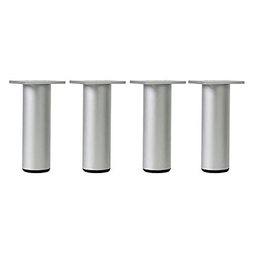 LSLS Patas para Muebles Accesorios de Bricolaje Soporte de pies (con Tornillos) Patas para Muebles, Patas de Muebles Ajustables x4, gabinete/Sofá Pies de reemplazo Patas de Mesa