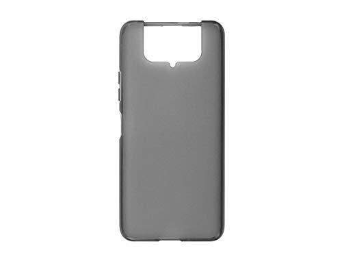 etuo Hülle für Asus Zenfone 7 (ZS670KS) - Hülle FLEXmat Hülle - Schwarz Handyhülle Schutzhülle Etui Hülle Cover Tasche für Handy