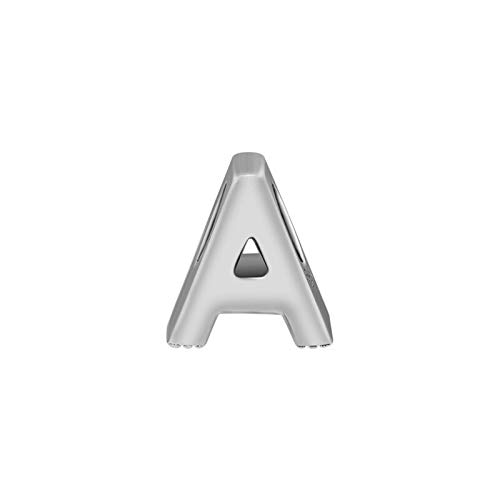 Diy Authentic 925 Sterling Silver Alphabet Letter A Charm Beads Fits Original Bracelet Jewelry Making Accessories