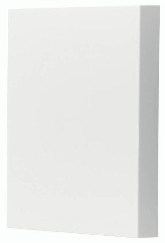 Broan-NuTone LA39WH Doorbell Kit, Decorative Wired Two-Note Door Chime for Home, 2.13