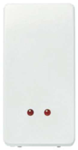 Niessen stylo - Interruptor monofasico piloto serie stylo blanco alpino