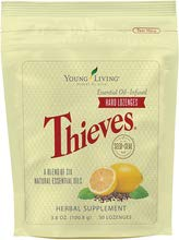 Thieves Hard Lozenges 30 ct by Young Living Essential Oils