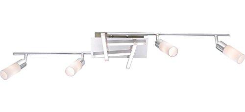 LED Deckenleuchte Deckenlampe Spot Lampe Decken Strahler Chrom Obi 205806