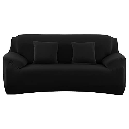 WXQY Funda de sofá elástica para Sala de Estar Funda elástica Antideslizante Funda de sofá Modular Funda de sillón de Esquina en Forma de L Funda de sofá A7 1 Plaza